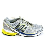 Adidas Adistar Salvation 2 Silver Blue & Yellow Running Shoes Men's NEW - $104.99