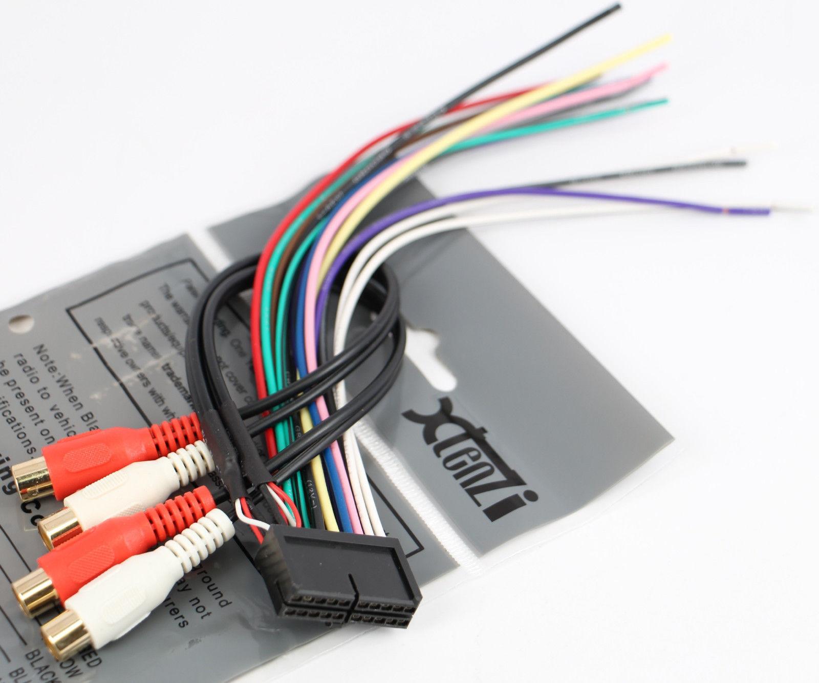 Jensen Radio Wiring Harness - Wiring Diagram Schemas