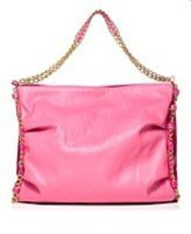 Nicki Minaj Pink Friday Launch Tote Fragrance Pink Bag W/gold Chain - $24.74