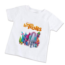 Trolls Movie  Unisex Children T-Shirt (Available in XS/S/M/L) - $14.99