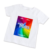 Trolls Movie  Unisex Children T-Shirt (Available in XS/S/M/L) - $14.99