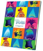 "Trolls Movie  12""x16"" (30cm/40cm) Canvas Print - $25.00"