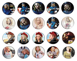 MADONNA music, don't tell me pin pinback button... - $17.00 - $23.25