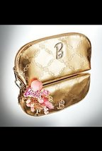 Barbie Kiss and Make-up Gold Cosmetic Case - $197.99