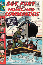 Sgt. Fury and His Howling Commandos Comic Book #26, Marvel 1966 VERY FINE - $42.46