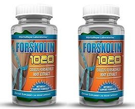 MaritzMayer Laboratories Forskolin 1020 Metabolic Support Weight Loss Fo... - $14.98