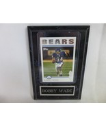 Bobby Wade Chicago Bears Wall Plaque Hanging NFL Football - $9.89