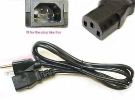 POWER CORD - BEHRINGER FCB 1010 MIDI FOOT pedal CONTROLLER plug cable ac... - $14.73
