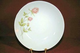 "Prudential Catillion Pink Rose Spray Bread Plate 6"" - $2.76"