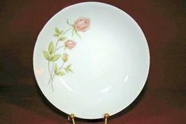 "Prudential Catillion Pink Rose Spray Bread Plate 6"" - $2.76"