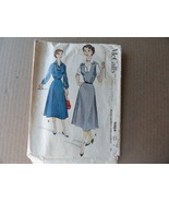 McCall's Jumper and Blouse Cut Pattern 9464 Sz 16 1953 AS IS - $2.49