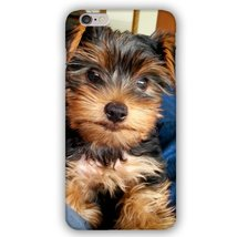 Yorkie Dog Puppy Smiling for Camera Apple iPhone 6 Plus / 6S Plus Phone ... - $9.99