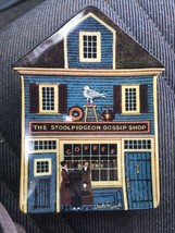 The Stoolpidgeon Gossip Shop Plate Charles Wysocki Folktown Bradford Exchange #6 - $14.84