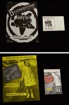 D-Generation Promo Flyer Postcard Lot 1990s Punk Band No Lunch - $14.99