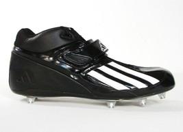 newest d902f b83af Adidas Quickslant Mid D Football Cleats Black  amp  White Mens NEW -  44.99