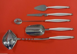 Classique by Gorham Sterling Silver Cocktail Party Bar Serving Set 5pc Custom - $289.85