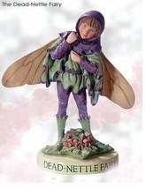 Retired Cicely Mary Barker Dead Nettle Flower Garden Fairy Ornament Figu... - $44.95