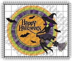 1/4 Sheet - Halloween Witch Birthday - Edible C... - $8.50