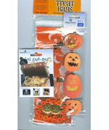 Halloween Trick or Treat Grab Bag of Crafty Holiday Items 6 Pictures - $12.00