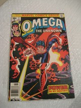 OMEGA THE UNKNOWN #5 marvel comics very fine condition 1976 - $5.99