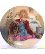 Annie Sandy Orphan Columbia Picture Movie Collector Plate Knowles Vintag... - $59.95