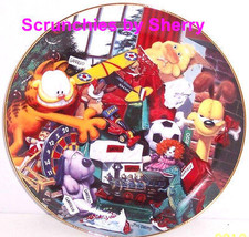 Garfield Collector Plate All I Want For Christmas Danbury Mint Holiday Cat  - $59.95