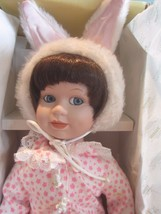 """Seymour Mann Connoisseur Collection Edition doll; Honey Bunny, 14"""" COA  - $19.80"""