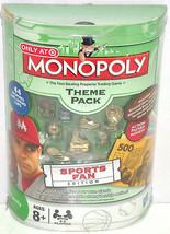Monopoly SportsTheme Pack Target Money Baseball Football Soccer Tennis Game - $39.95