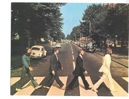 Beatles Abbey Road John Lennon Paul McCartney Vintage 22X28 Color Music Photo - $37.95