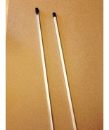 """2 - 30"""" ALUMINUM SECURITY YARD Sign STAKES for all Alarm & adt'l Alarm S... - $13.99"""