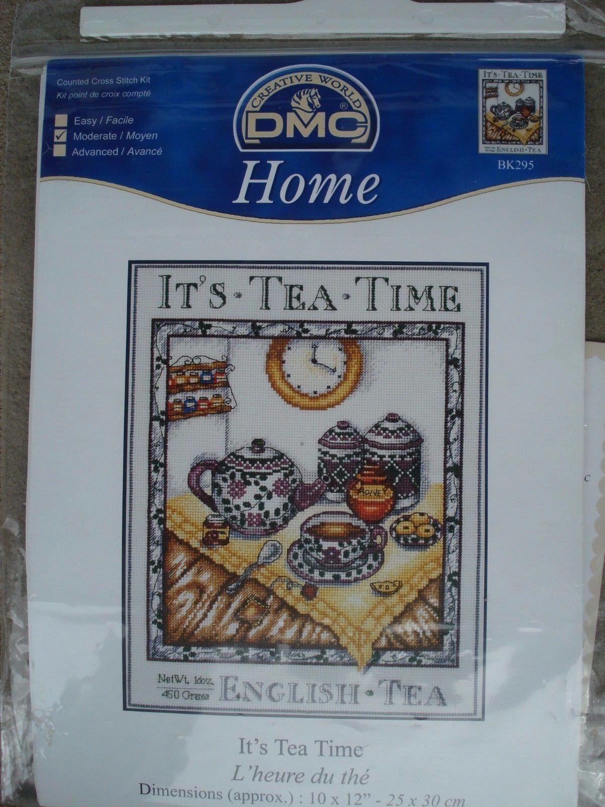 L Art Du Point De Croix dmc home bk295 it's tea time 25/30 cm. and 11 similar items