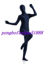 HALLOWEEN SUIT LYCRA SPANDEX DARK BLUE FULL BODY SUIT CATSUIT COSTUMES S074 - $32.99