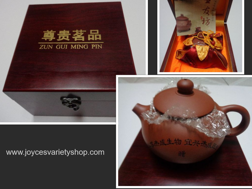 Clay chinese teapot collage