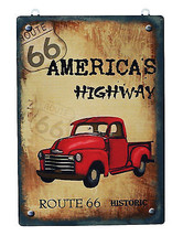 New Designed  Americas Highway Route 66 Metal A... - $8.99