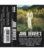 JOHN DENVER - Greatest Hits, Vol. 2 CASSETTE  - $28.67