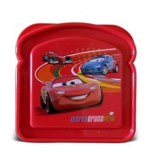 Disney Pixar Cars Sandwich Lunch Snack Container - $1.98