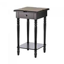 Hampton Black Wood Table - $123.60