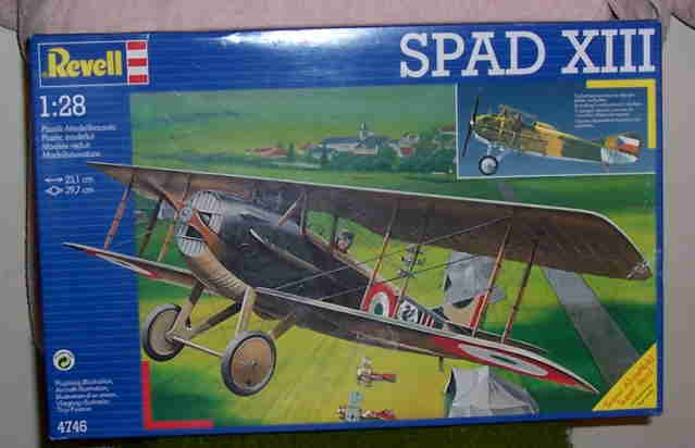 REVELL 1/28 SPAD XIII - ITALIAN WWI FIGHTER