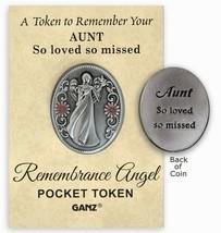 Ganz Remebrance Angel Token, Aunt - $8.99