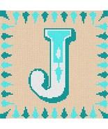 pepita Letter J Needlepoint Kit - $70.00