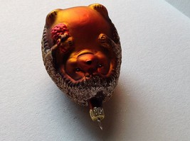 Blown glass cute Hedgehog  hand painted ornament made in Germany image 6
