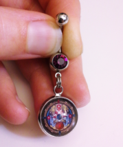 The Legend of Zelda Majora's Mask Termina Clock Belly Button Ring Body J... - $17.00