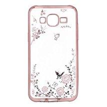 Galaxy J710 2016 Case,Secret Garden Butterfly Floral Flower Case with Or... - $7.91