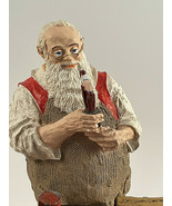 Vintage Santa's Workshop Figurine Rockwell Heirloom Santa Collection 5.5... - $16.78