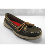 Sperry Top-Sider Brown Nubuck Leather Mesh Camouflage Boat Shoes - Women... - $33.20