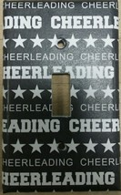 Cheerleading Light Switch Cover home wall decor lighting outlets cheer p... - $7.75