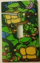 Teenage Mutant Ninja Turtles design Light Switch Cover decor lighting pl... - $8.00