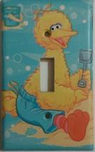 BIG BIRD Light Switch Plate Cover lighting nursery decor kid room Sesame... - $7.75