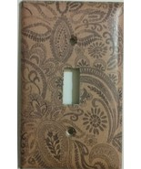 Paisley Light Switch Cover lighting outlet wall home decor kitchen bathr... - $7.75