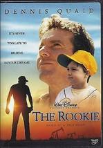 "Dennis Quaid is ""The Rookie"" - A Walt Disney Widescreen DVD - $3.91"